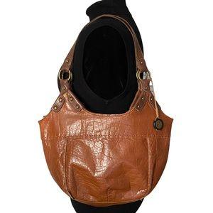Brown leather The Sak shoulder bag